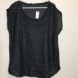 MNG Casual Top Size Large